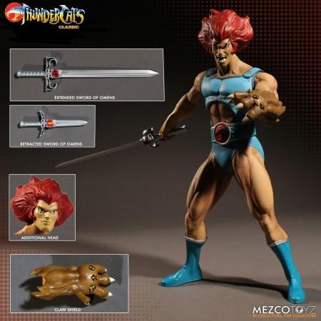 Mezco Thundercats Mega Scale Lion-O