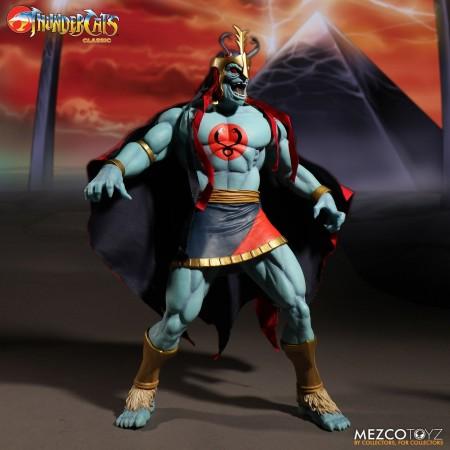 Mega escala de va mezcando Thundercats Mumm-Ra