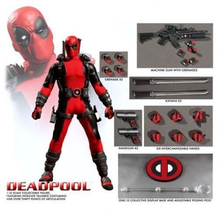 Mezco One:12 Collective Deadpool