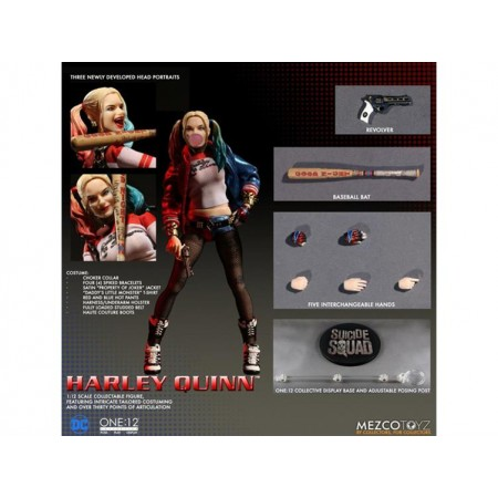 Mezco One:12 Collective Harley Quinn