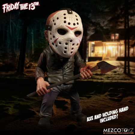"Mezco Friday the 13th Jason Roto Vinyl Figure 6"" Action Figure"