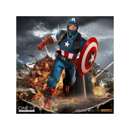 Mezco One:12 Collective Marvel - Captain America