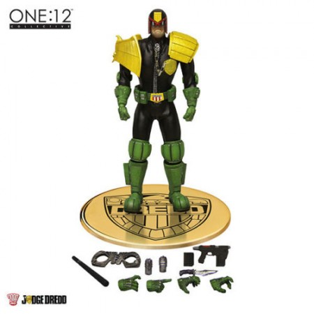 Mezco One 12 Collective Judge Dredd Action Figure