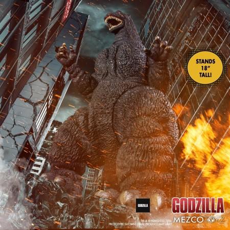 Mezco Ultimate Godzilla 18 Inch Light and Sound Action Figure