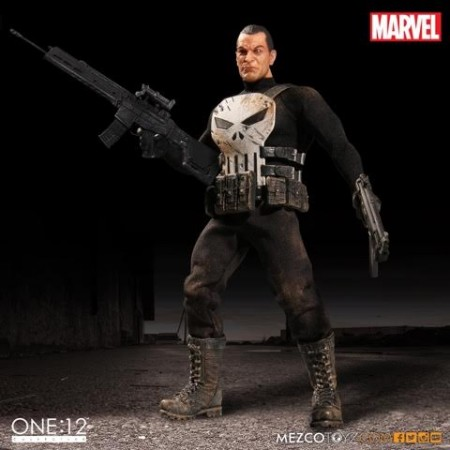 Mezco One:12 Collective Punisher