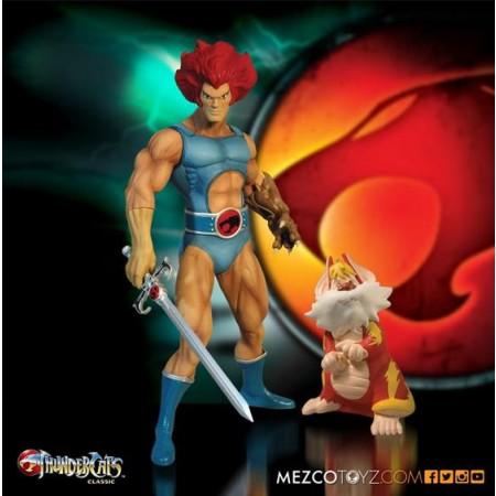 "Mega Scale Thundercats - 14"" Lion-O With Snarf"