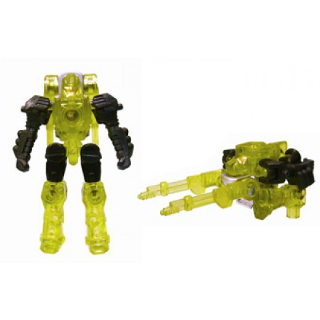 Transformers Micron Exclusive Clear Yellow Firebolt
