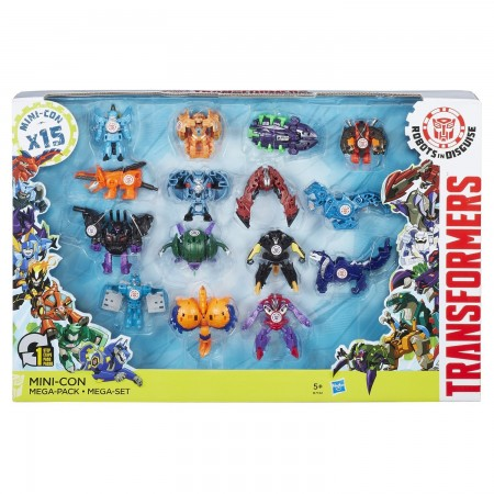Transformers Robots in Disguise Mini-Con Mega Pack