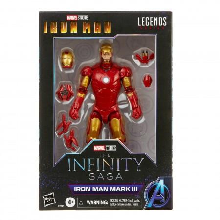 Marvel Legends Infinity Saga Iron Man Mark 3 Action Figure