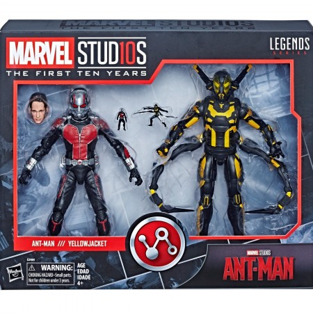 Marvel Legends Cinematic Universe Ant-Man & Yellowjacket 2 Pack