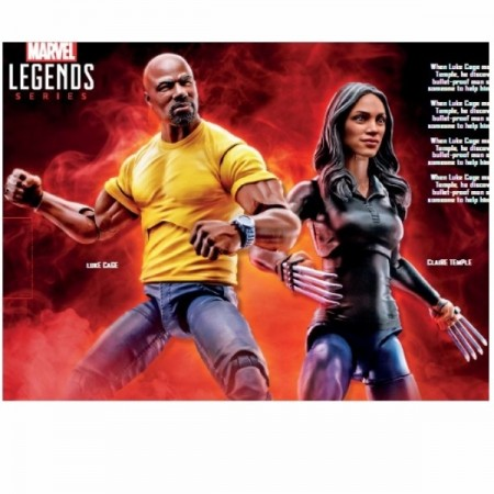 Marvel Legends Netflix Luke Cage & Claire Temple 2 Pack