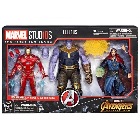 Marvel Legends Cinematic Universe Infinity War 3 Pack