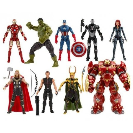 Marvel Legends Best Of Avengers Hulkbuster Wave Set of 8