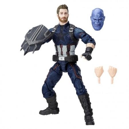 Marvel Legends figura de acción de Infinity guerra Capitán América
