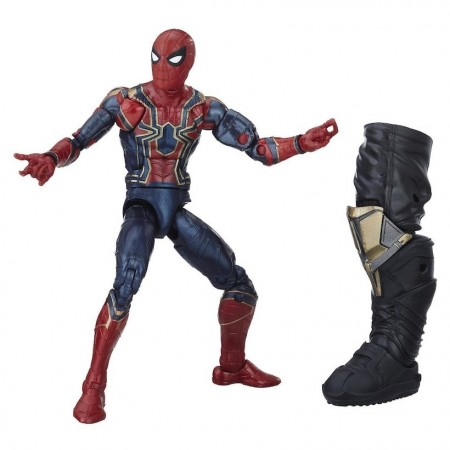Marvel Legends infinito guerra hierro Spider Man figura de acción