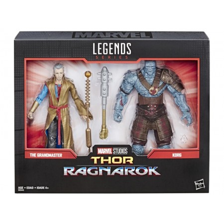 Marvel Legends 80aniversario Korg & Grandmaster 2 Pack