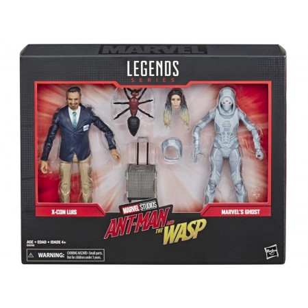 Marvel Legends 80th Anniversary Luis & Ghost 2 Pack
