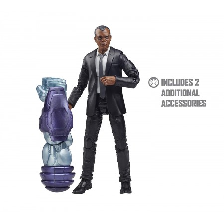 Marvel Legends Captain Marvel Nick Fury kree Sentry Wave