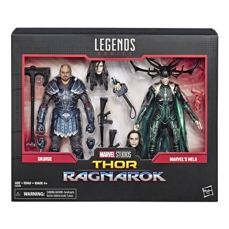 Marvel Legends 80th Anniversary Skurge & Hela 2 Pack