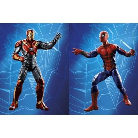 Marvel Legends Spider Man regreso 2 Pack Spidey y Iron Man