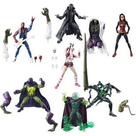 Marvel Legends Lizard Build A Figure Set of 7