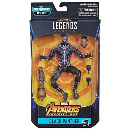 Marvel Legends Black Panther Wave 2 Vibranium Armour Black Panther