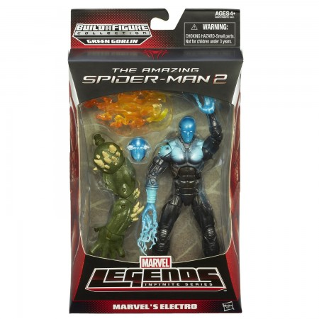 Marvel Legends Amazing Spider-Man 2 Electro