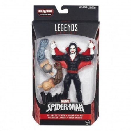 Marvel Legends hombre serie Morbius que absorbe