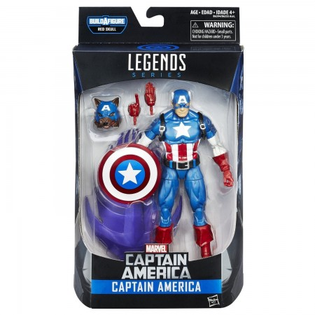 Marvel Legends Onslaught Series Captain America / Wolf Cap