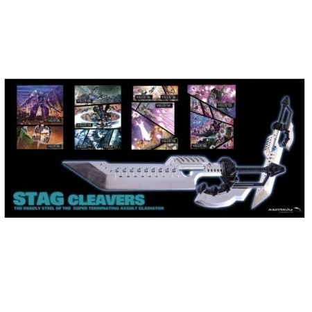 mastermind creations stag cleavers kapow toys