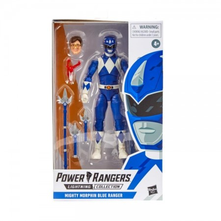 Power Rangers Lightning Collection Mighty Morphin Power Rangers Blue Ranger
