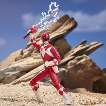 Power Rangers Lightning Collection MMPR Red Ranger Action Figure
