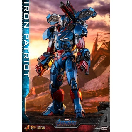 Hot Toys Avengers Endgame Iron Patriot MMS547 D34 1/6th Scale Figure