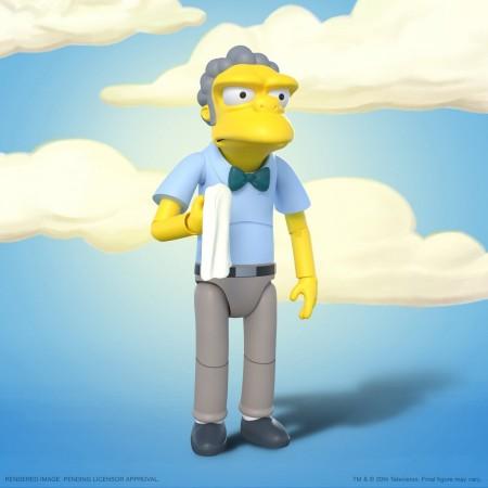Super7 The Simpsons Ultimates Wave 1 Moe Action Figure