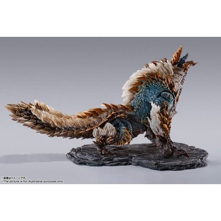 S.H. Monsterarts. Monster Hunter World Iceborne Zinogre Action Figure