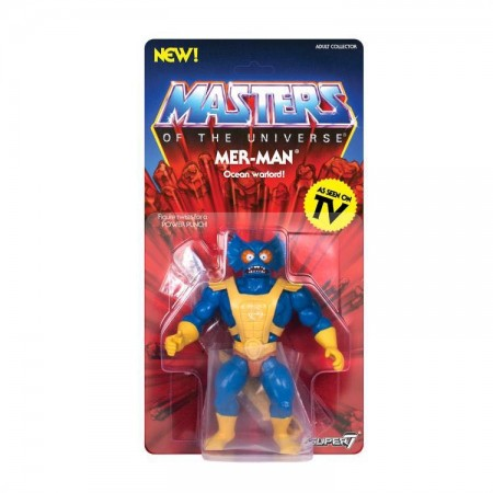 Super 7 Masters Of The Universe Merman Vintage Action Figure