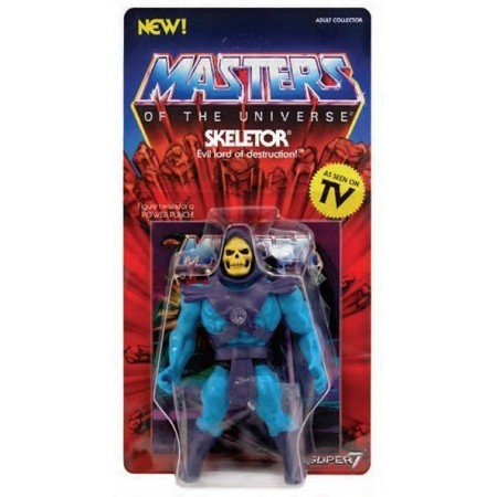 Super 7 Masters Of The Universe Skeletor Vintage Action Figure