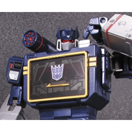 Transformers Masterpiece MP-13 Soundwave & Laserbeak Reissue