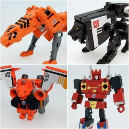 Transformers Masterpiece MP-15E / 16E Cassettebot Vs Cassettron