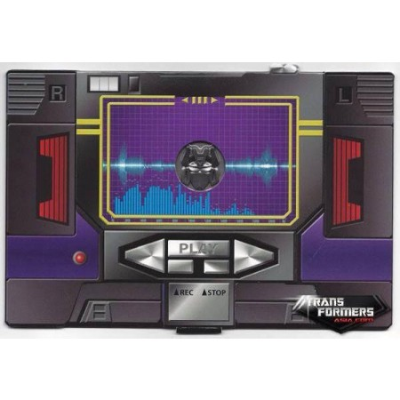 Transformadores obra maestra MP-13B Soundblaster moneda