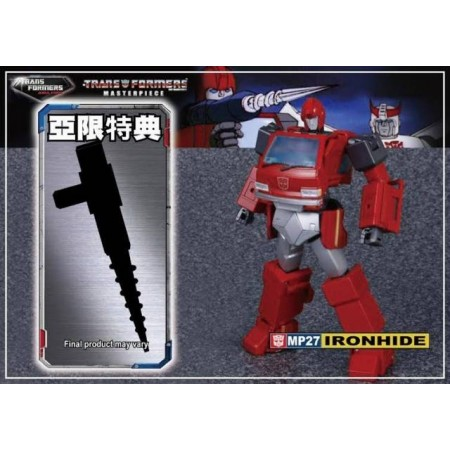Transformers Asia Exclusive Masterpiece Ironhide With Drill