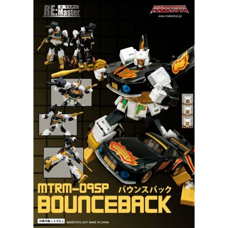 Maketoys RM-09SP Bounceback &  Recoil