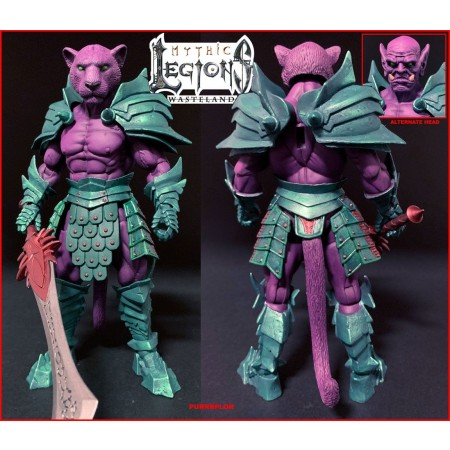 Mythic Legions : Wasteland Purrrplor 6 Inch Action Figure
