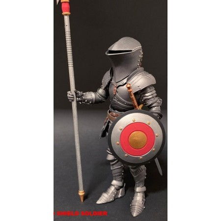 Mythic Legions :Arethyr Red Shield Soldier 6 Inch Scale Action Figure
