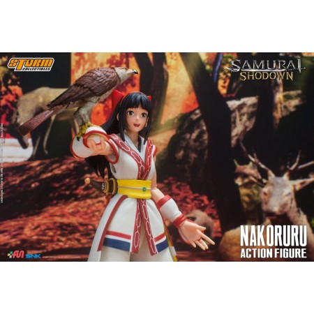 Samurai Showdown Nakoruru Storm Collectibles Action Figure