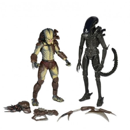 NECA Alien Vs Predator Kenner 2 Pack