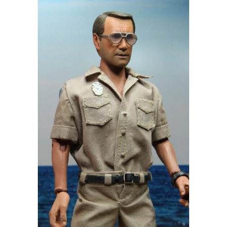 NECA Jaws Chief Brody Retro Clothed Action Figure