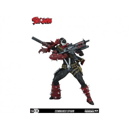 McFarlane Colour Tops Commando Spawn