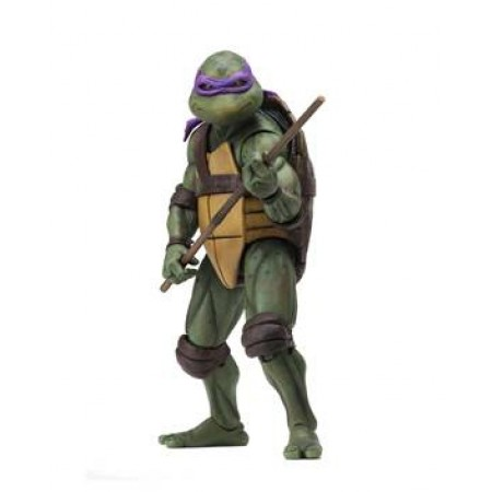 NECA TMNT Movie Star Donatello 7 Inch Action Figure