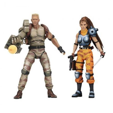 NECA Alien Vs Predator Dutch & Lin Arcade 2 Pack